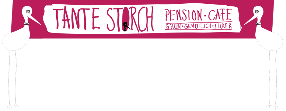 Pension Tante Storch Café und Übernachten