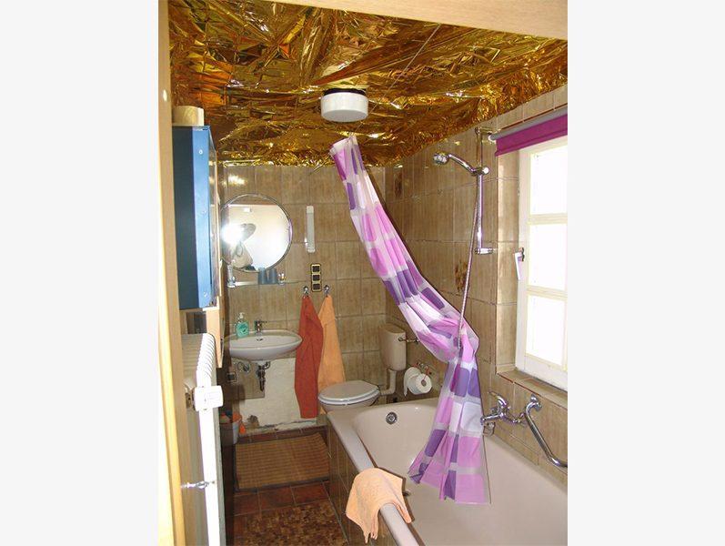 Badezimmer Reetdachhaus