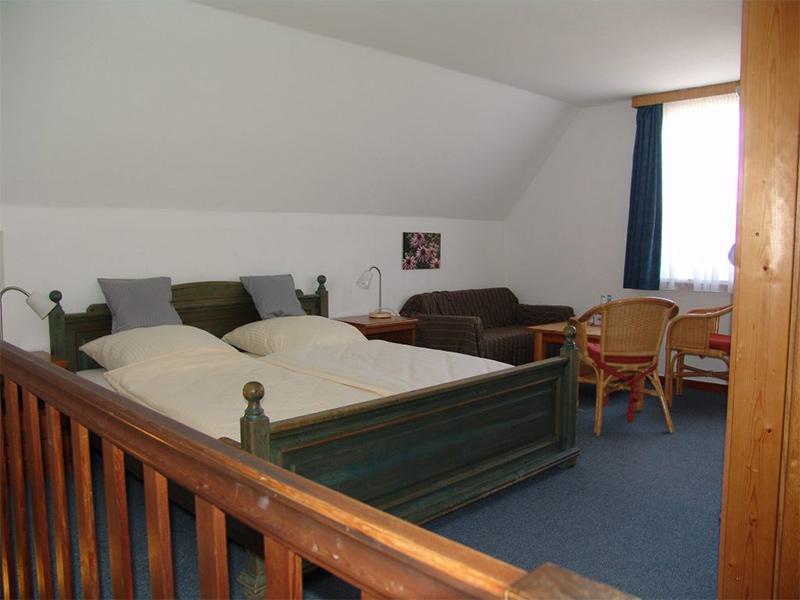 Zimmer 2 Doppelbett