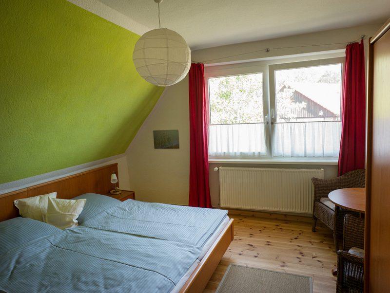 Zimmer 8 Doppelbett