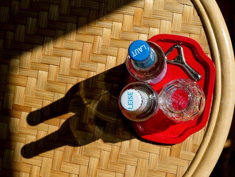 Wasser für die Gäste