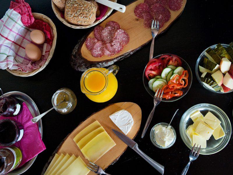 Köstliches Bio Frühstück